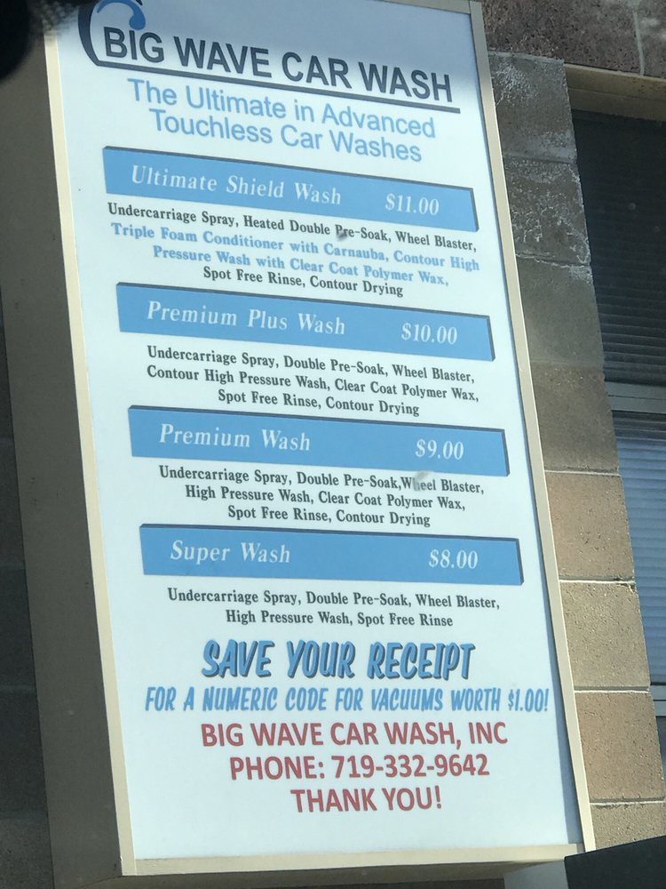 Big Wave Car Wash Gift Card Colorado Springs Co Giftly