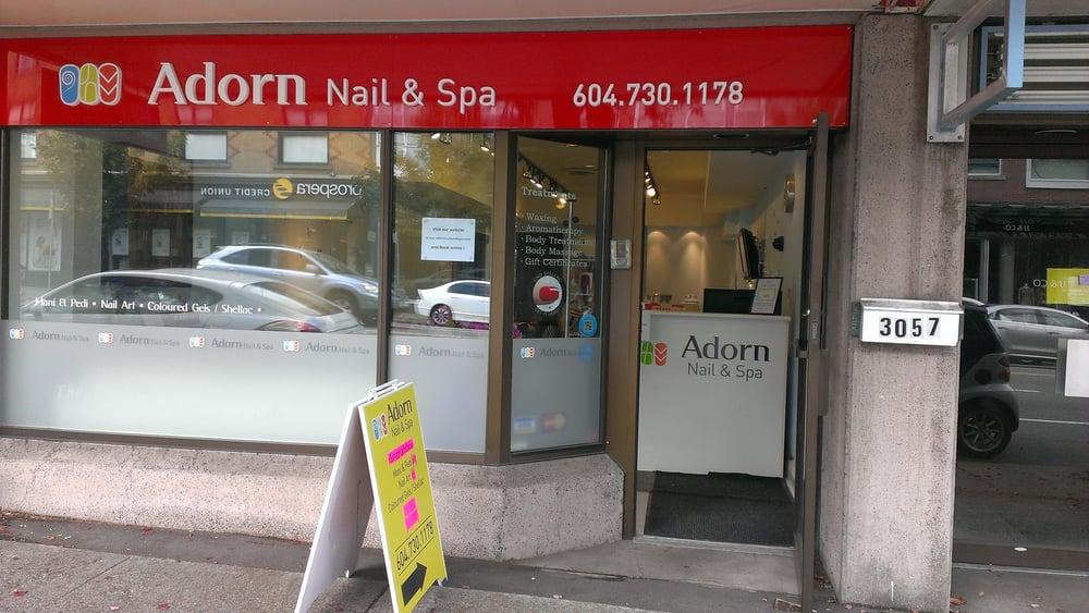 Adorn Nail Spa Vancouver Bc