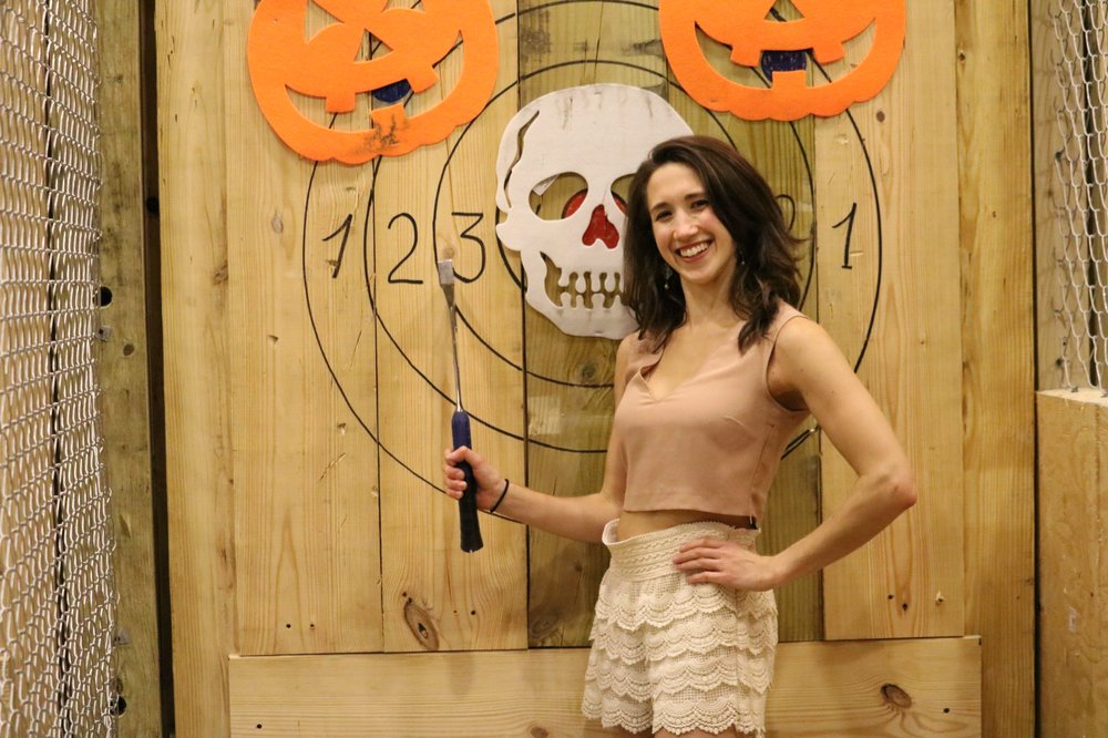 Extreme Axe Throwing Miami
