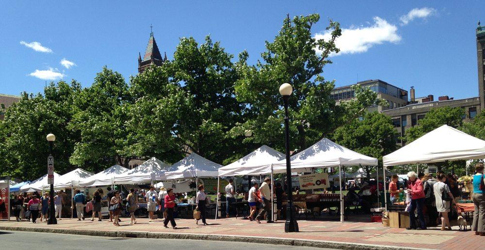 Copley Square Farmers Market: Copley Square, Boston, MA