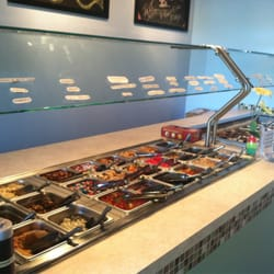 Photo Of Mittenu0027s Frozen Yogurt Bar   Charlevoix, MI, United States.  Toppings ...