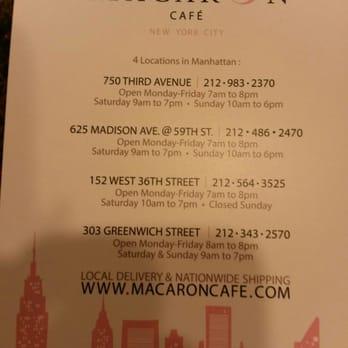 Macaron Cafe Nyc Yelp