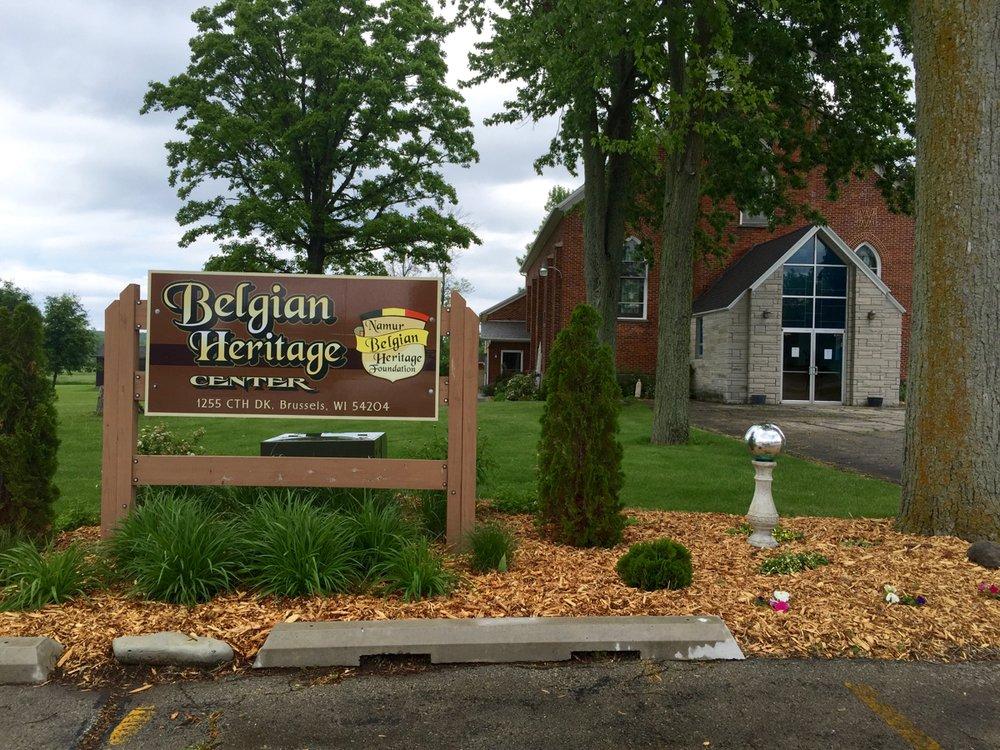 Belgian Heritage Center: 1255 County Dk, Brussels, WI
