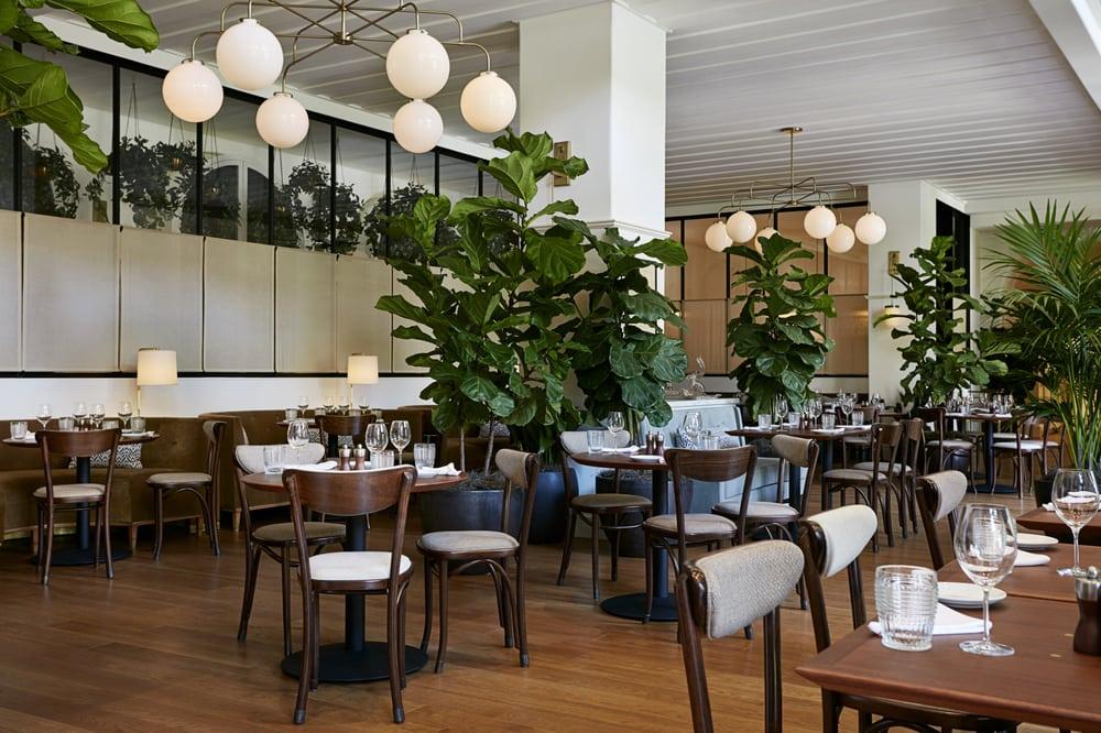 Georgie restaurant offers indoor and outdoor patio seating ...