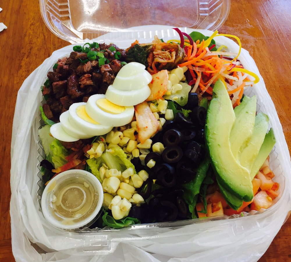 Korean Cobb Salad - yum! - Yelp
