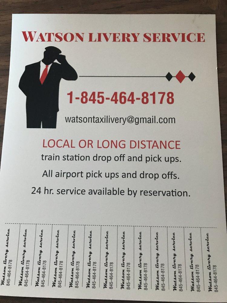 Watson Livery: Millerton, NY