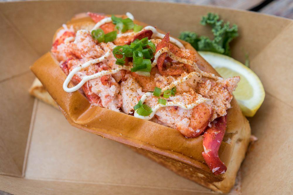 Food from Lobster & Beer
