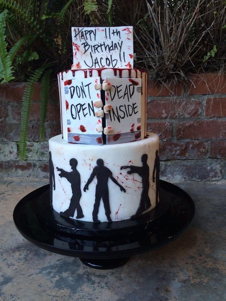 Walking Dead Cake Yelp