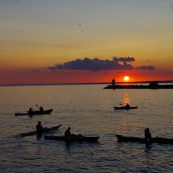 Image result for sunset paddle point pelee