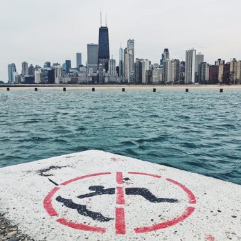Photo Of North Avenue Beach Chicago Il United States Almost Lost My