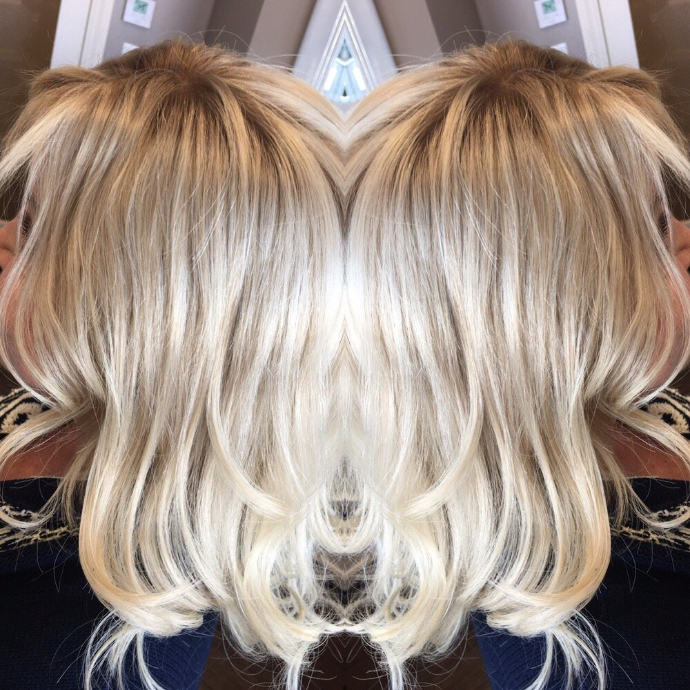 Halo Couture Fall Piece In Rooted Blonde Yelp