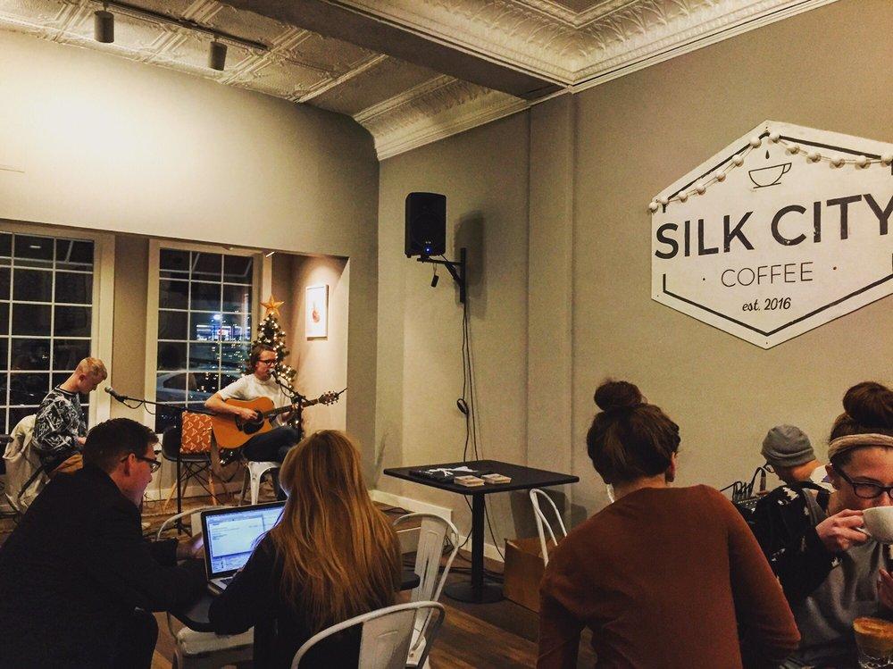 Silk City Coffee