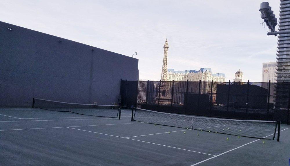 Tennis at The Cosmopolitan of Las Vegas