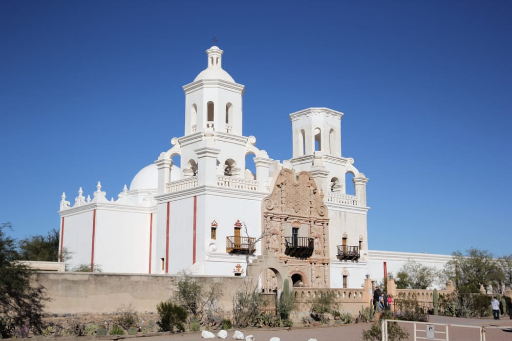 The Mission San Xavier del Bac -Today's Mission was built ...