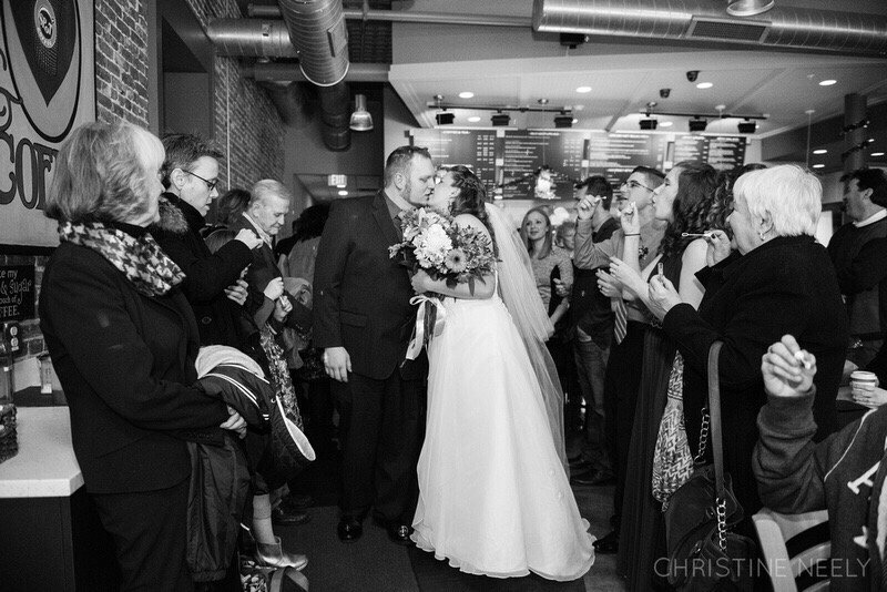 New Years Day 2016 our wedding ceremony venue: Spot Coffee! - Yelp