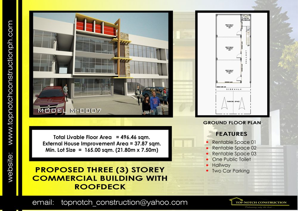 3-storey Commercial Building with Roofdeck.. - Yelp