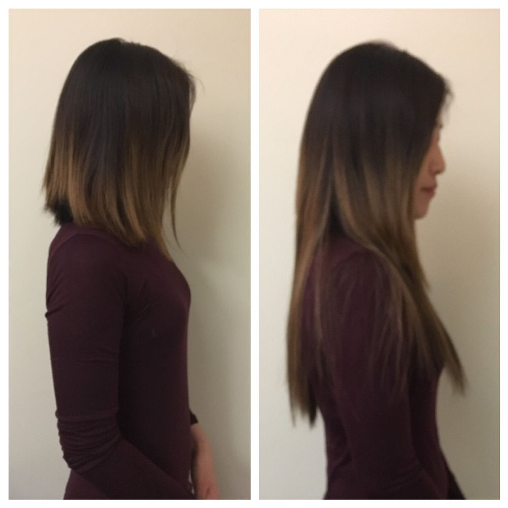 Tape Hair Extensions Before And After Yelp