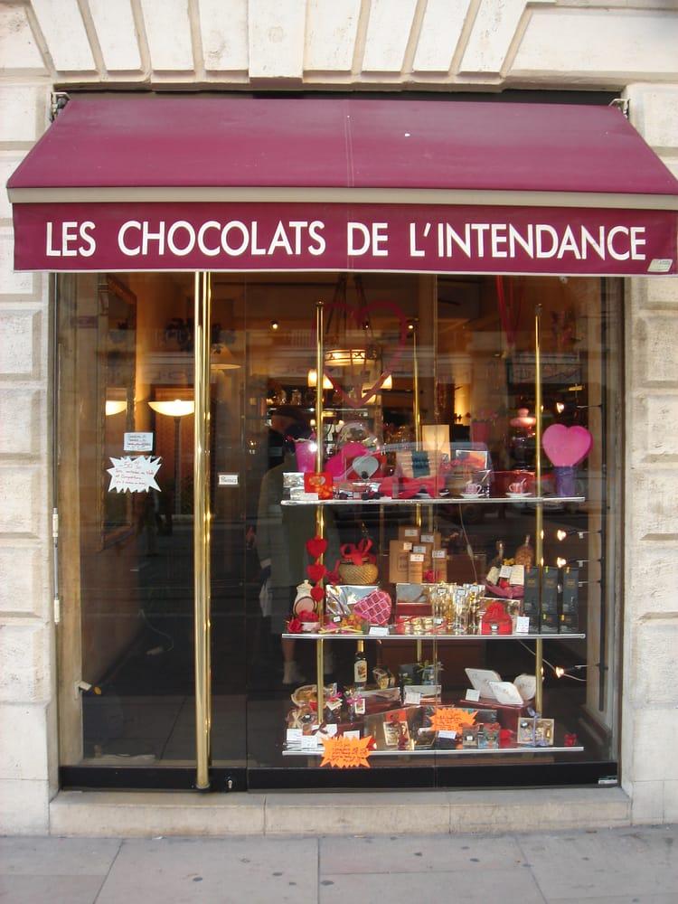 Les chocolats de l intendance chocolate chocolatiers for Appartement bordeaux cours de l intendance