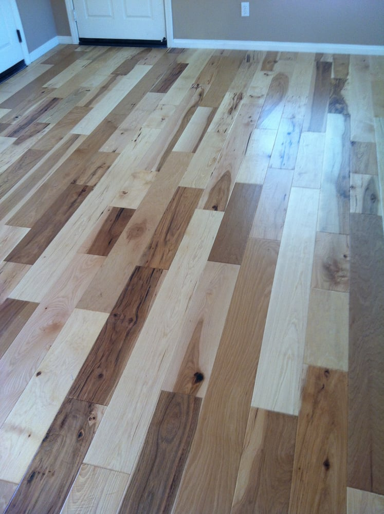 Hickory pecan hardwood professionally installed yelp for Hardwood floors san diego