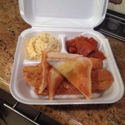 Photo Of Patio Restaurants   New Orleans, LA, United States. Fish Plate With