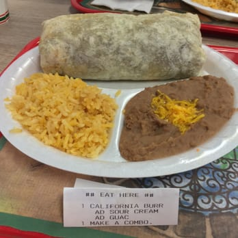 Sombrero Mexican Food San Diego Menu