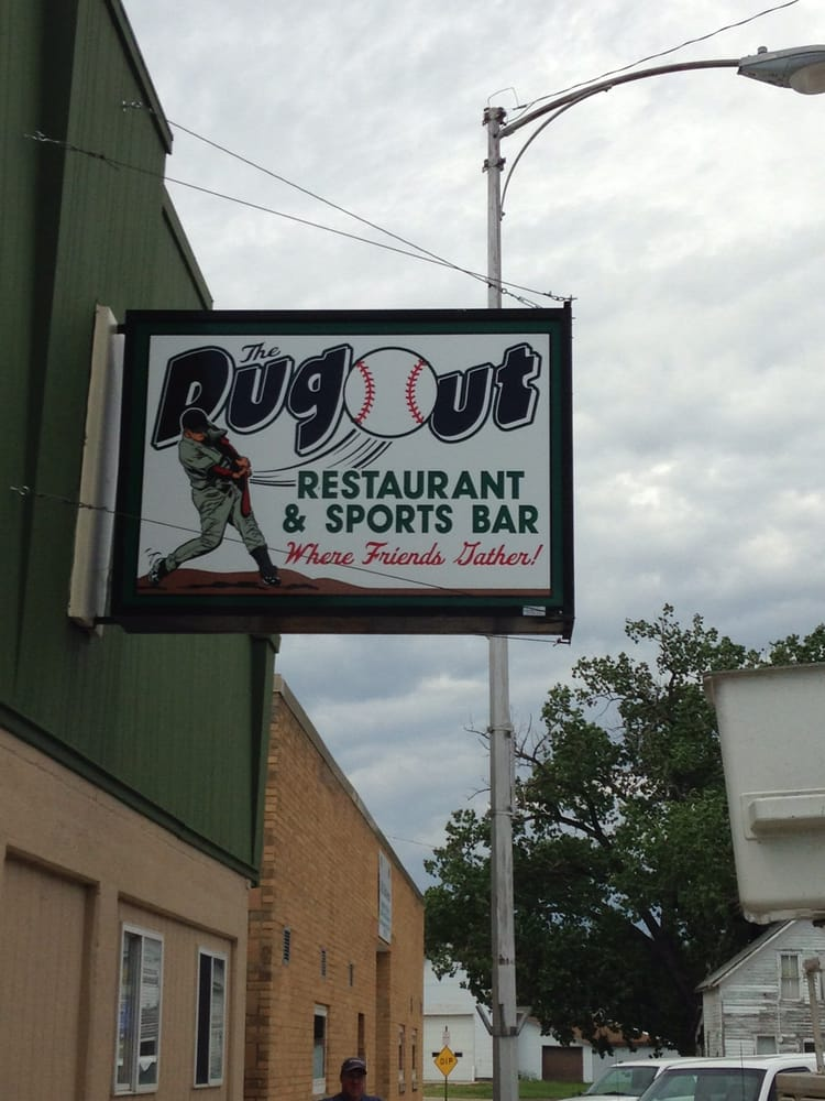 The Dugout: 108 W 2nd St, Tripp, SD
