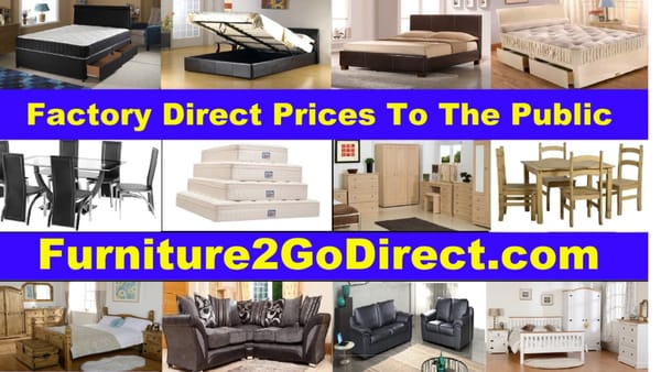Photo Of Furniture 2 Go Direct   London, United Kingdom. Factory Direct  Prices To
