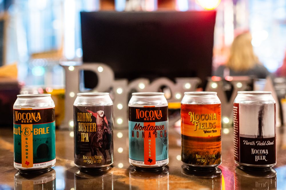 Nocona Beer & Brewery: 915 E Hwy 82, Nocona, TX