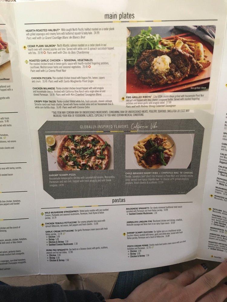 California Pizza Kitchen Pasadena Yelp