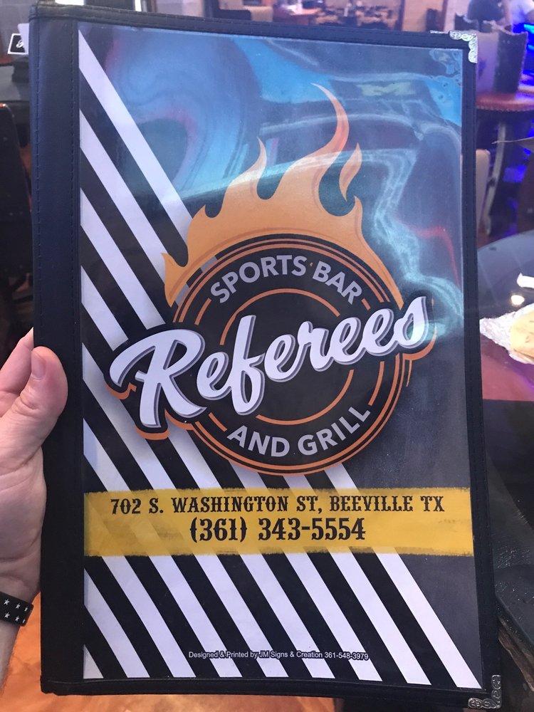 Referees Sports Bar & Grill: 702  Washington St, Beeville, TX
