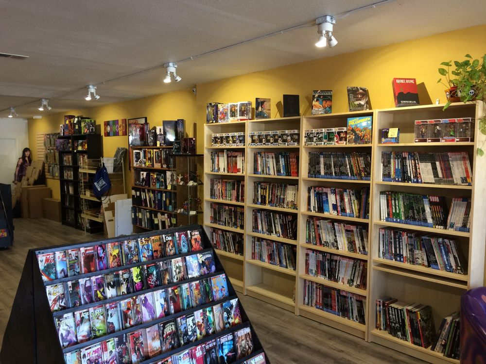 Blue Moon Comics: 1545 4th St, San Rafael, CA