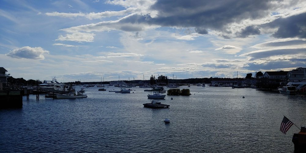Boothbay Foot Bridge: Atlantic Ave, Boothbay Harbor, ME