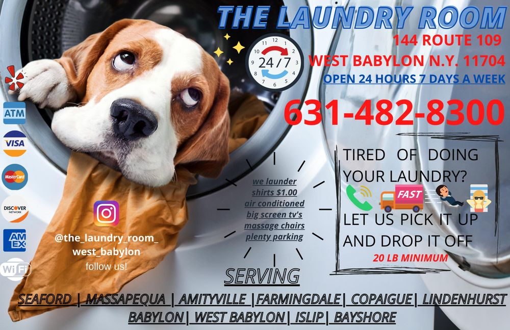 The Laundry Room: 144 Route 109, West Babylon, NY