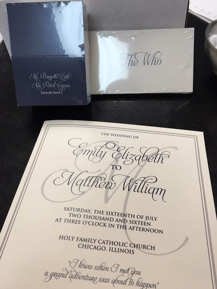 Photo of Maximum Printing & Graphics - Downers Grove, IL, United States.  Wedding