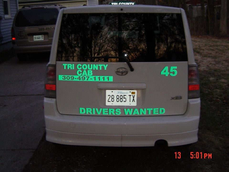 Tri County Cab Company: 1420 N Raber Rd, Peoria, IL
