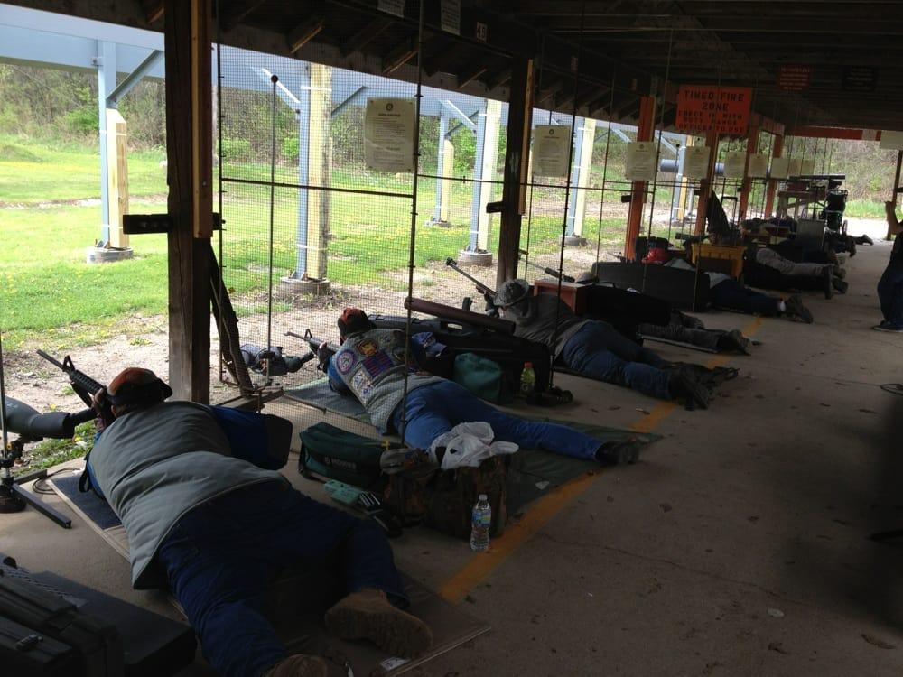 Bristol Shooting Ranges: 21001 85th St, Kenosha, WI