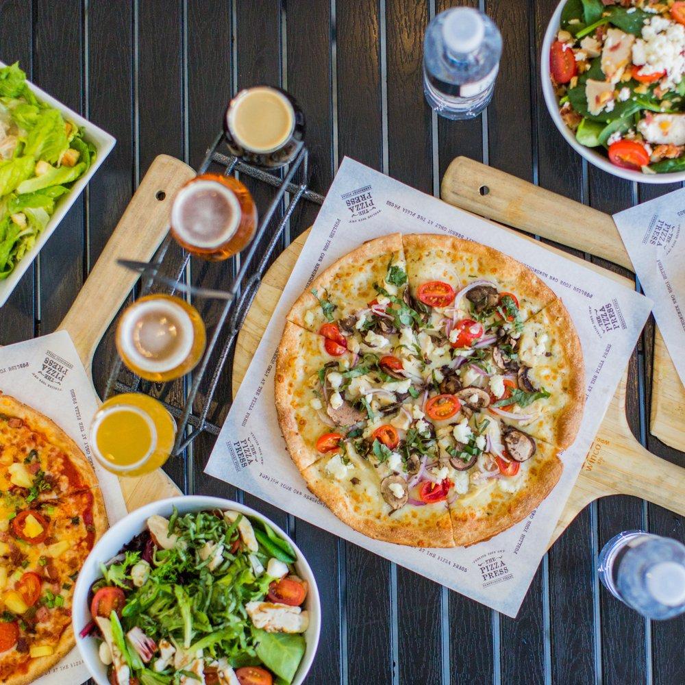The Pizza Press: 375 W Birch St, Brea, CA