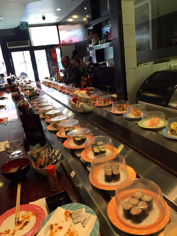 Red fish sushi 188 church st parramatta new south for Fish for sushi