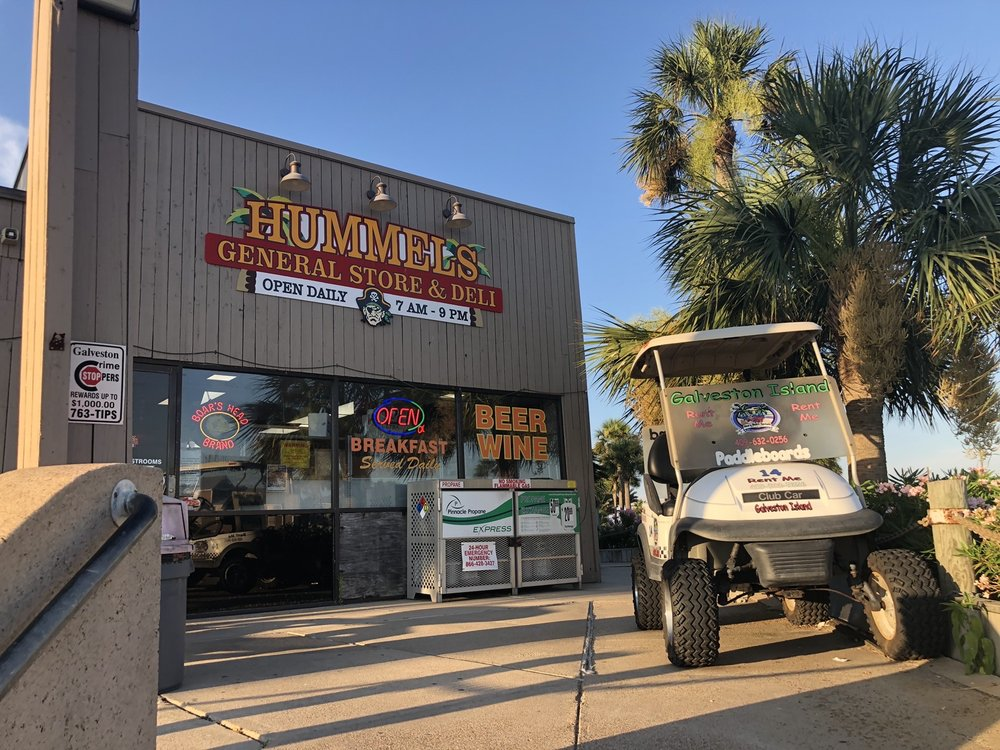 Hummel's General Store & Deli: 13722 Termini San Luis Pass Rd, Galveston, TX
