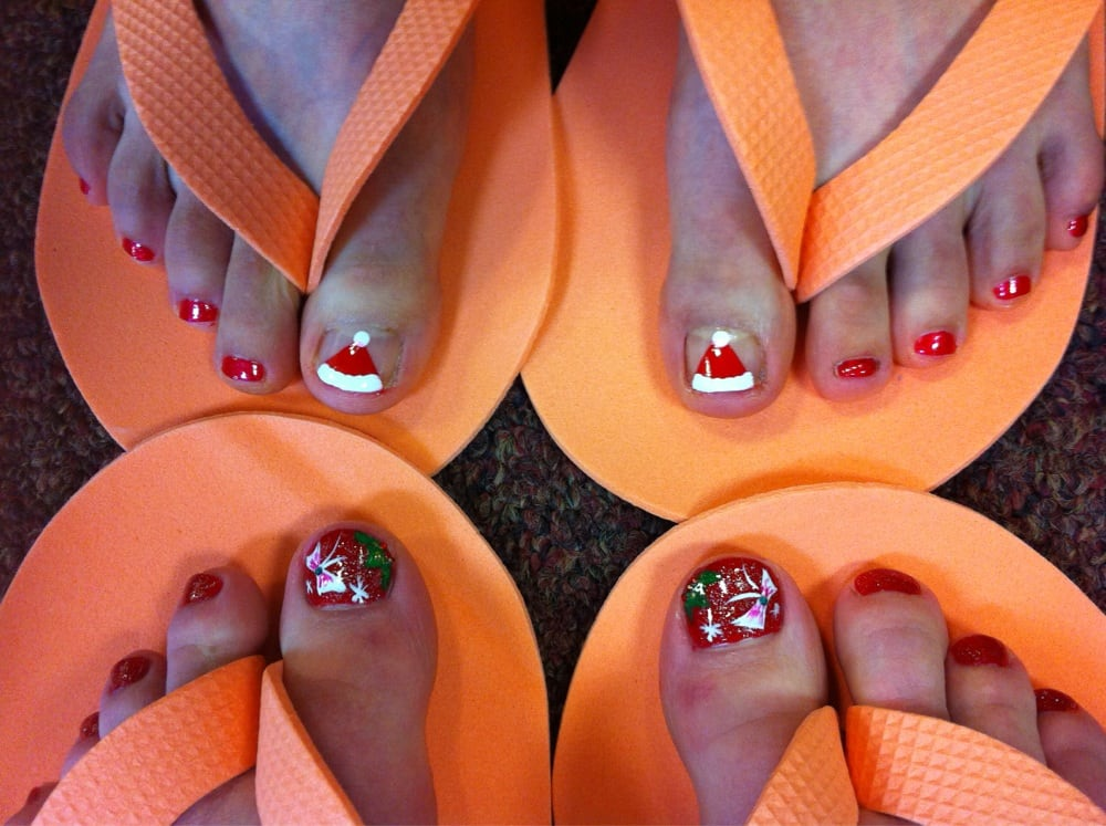 Pretty And Festive Nail Designs Yelp