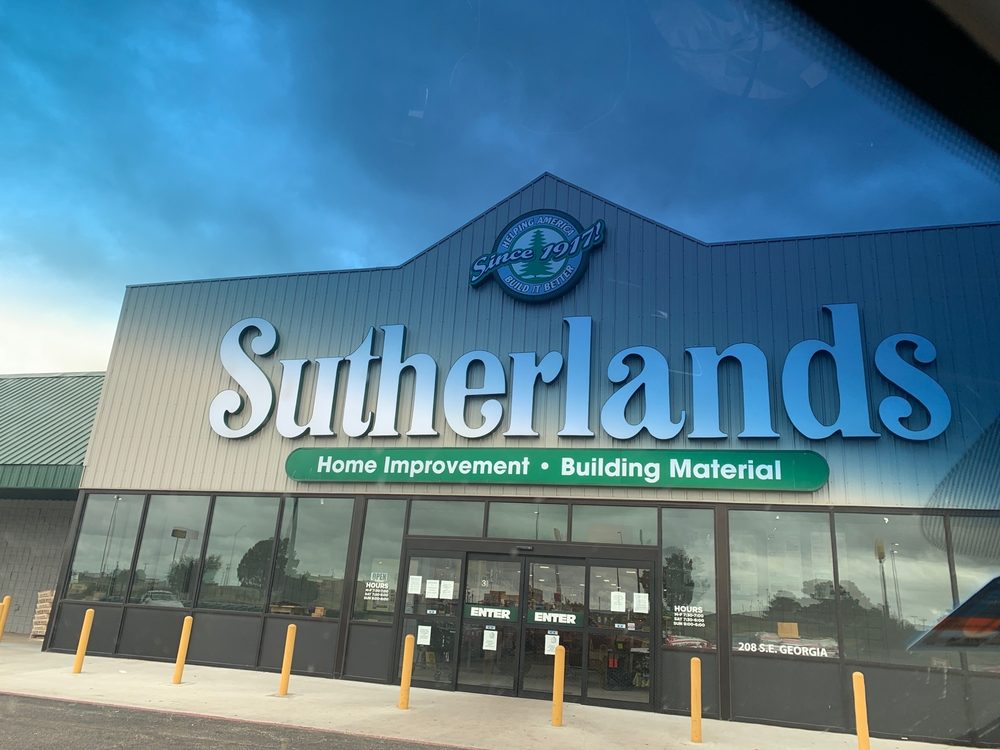 Sutherlands: 208 SE Georgia Ave, Sweetwater, TX