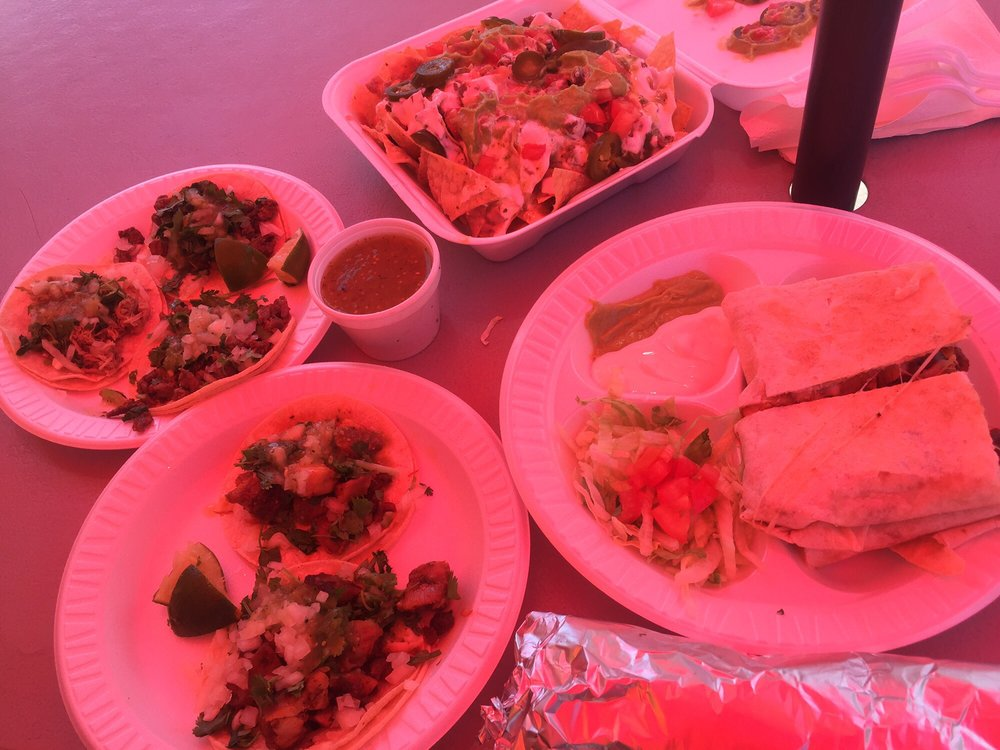 Food from Aztlan Mexican Restaurant