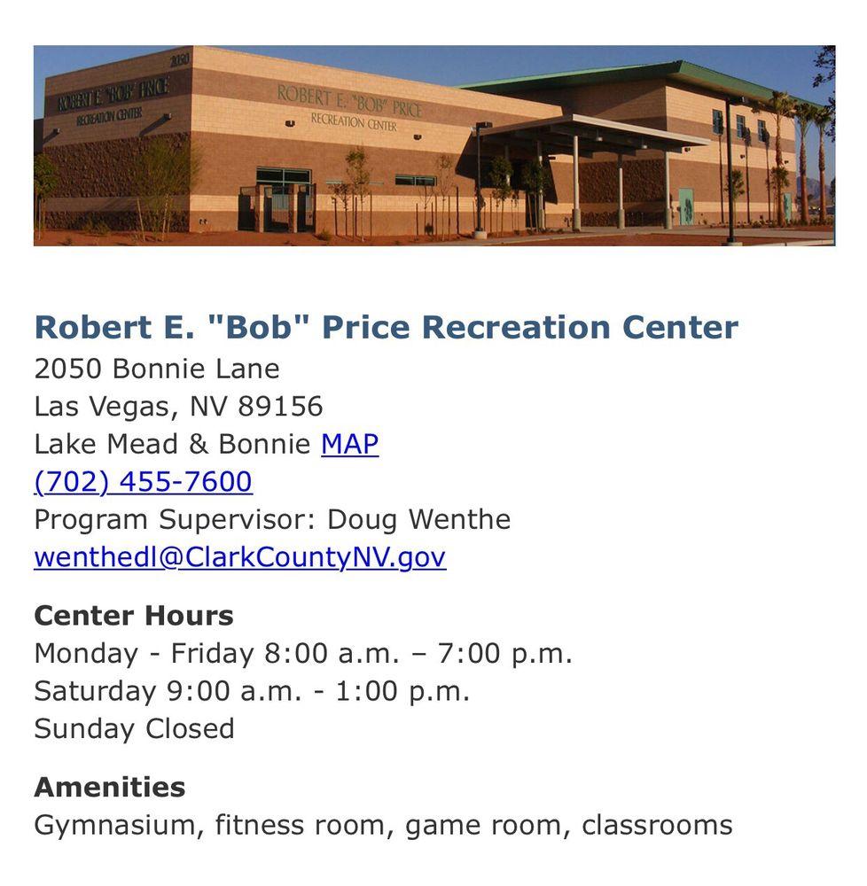 Robert Price Recreation Center