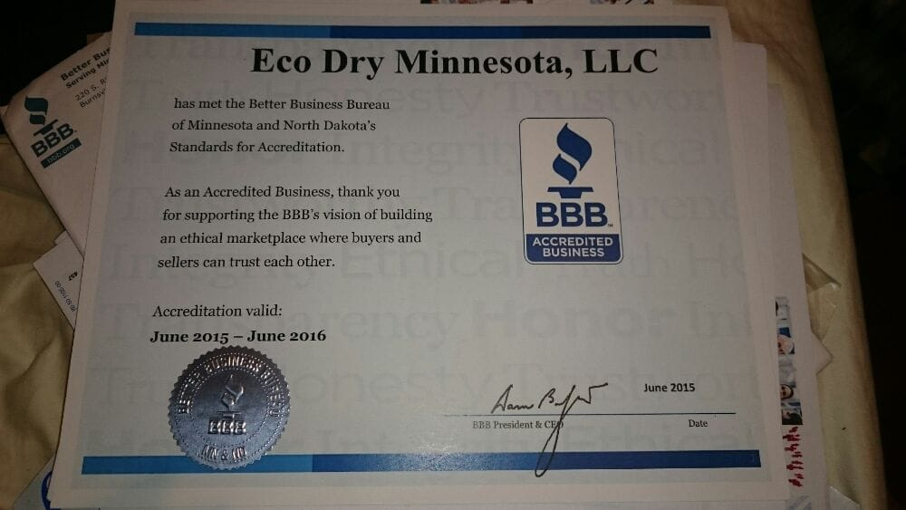 Eco Dry Minnesota