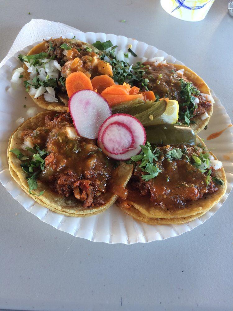 Food from Taqueria Sinaloa