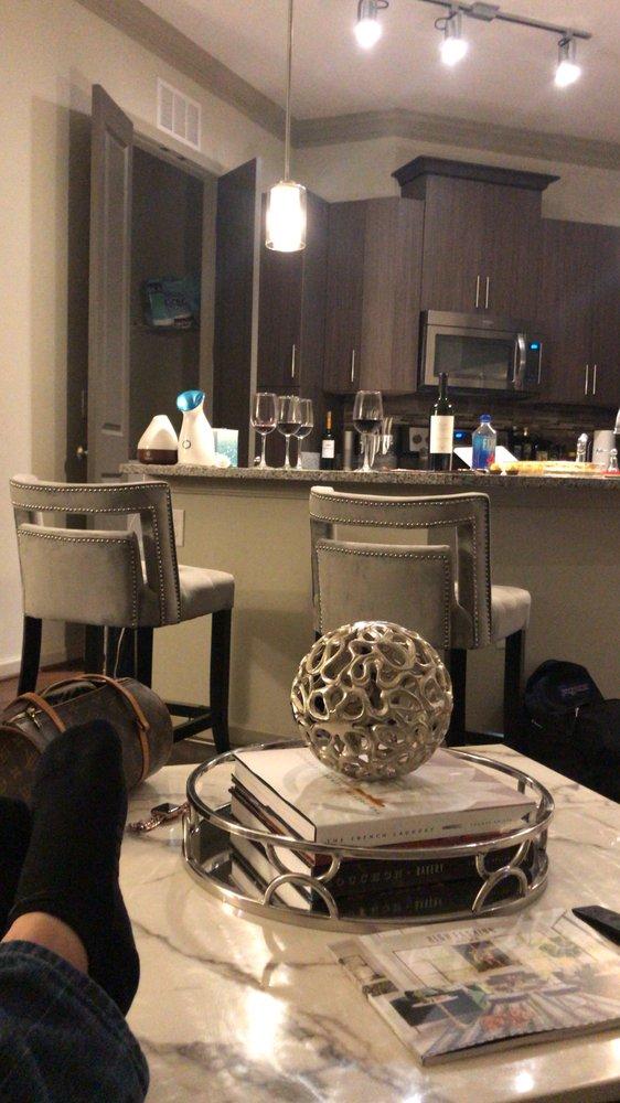 High Fashion Home Hart bar stools and Tintern marble ...