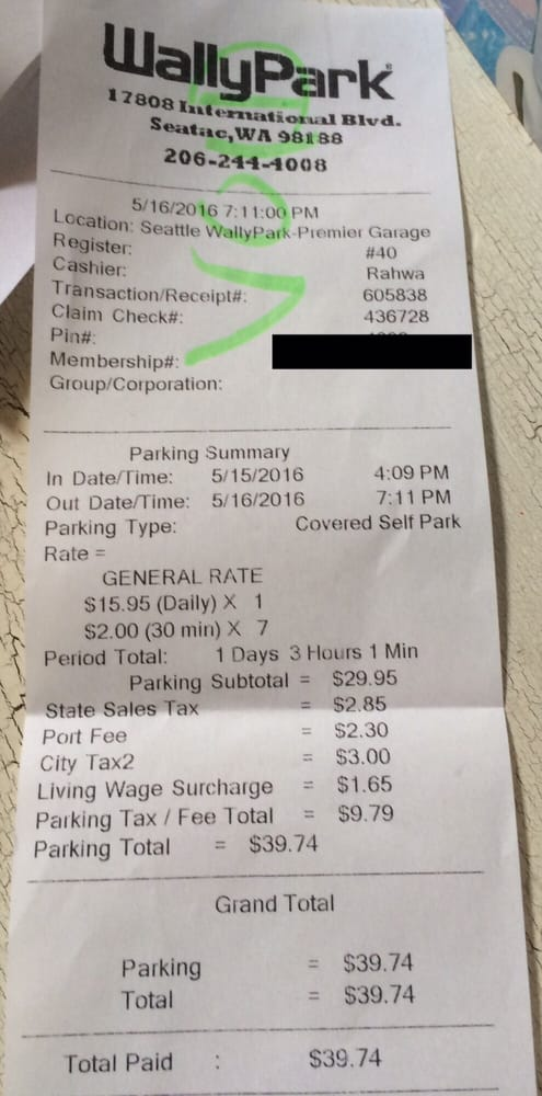 40 To Park For 1 Day 3 Hours And 1 Min Absolutely