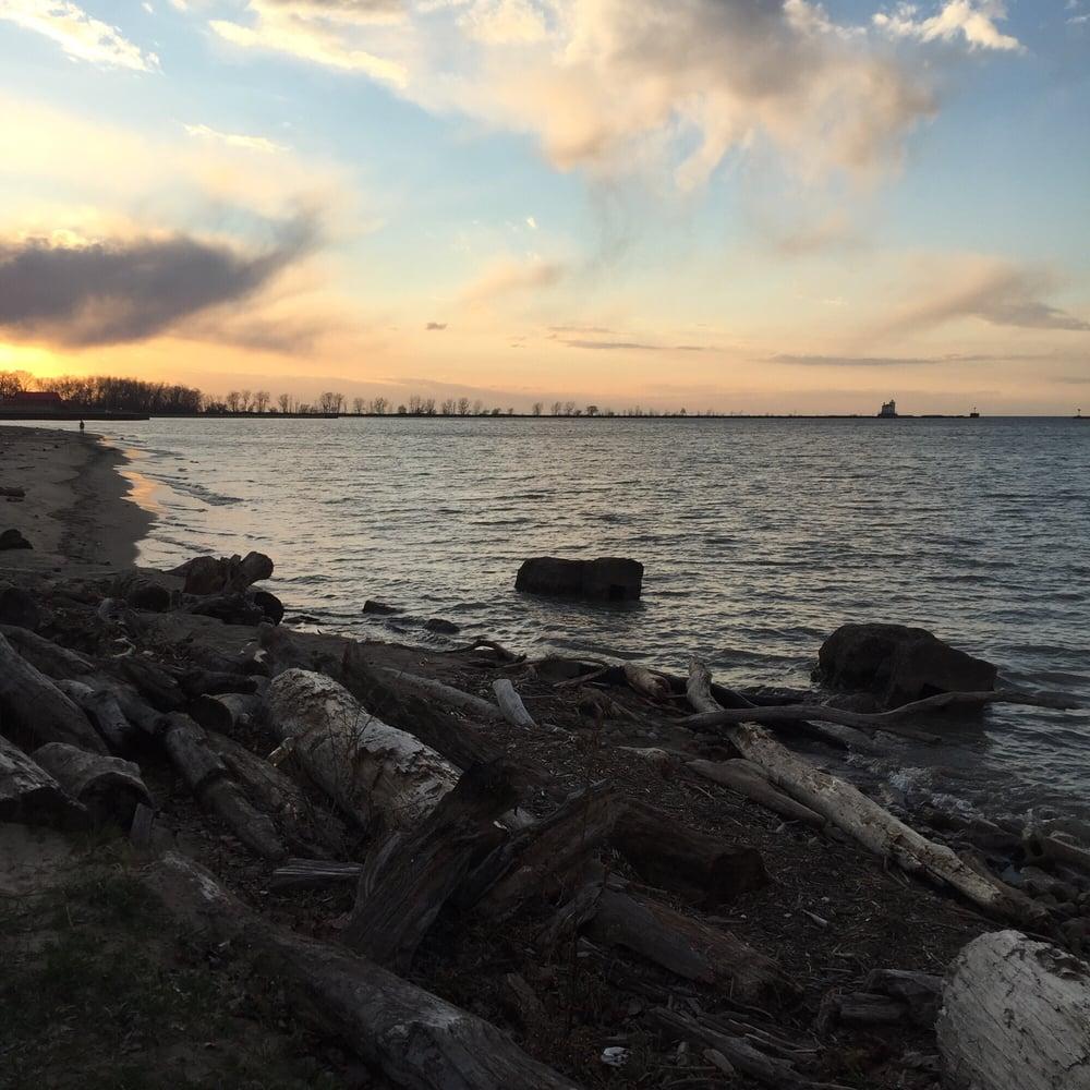 Fairport Harbor Lakefront Park Beach