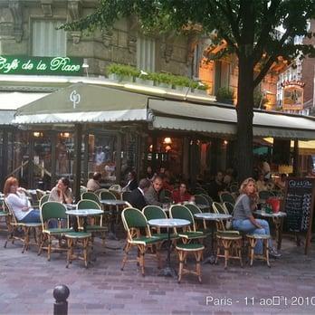 Caf Ef Bf Bd De La Place  Rue Odessa  Paris
