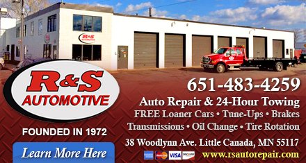 R&S Automotive: 38 Woodlynn Ave, Little Canada, MN